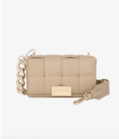 Sac à mains - LIGHT CAMEL - Braided Crossbody BagStatement - IDeal Sweden
