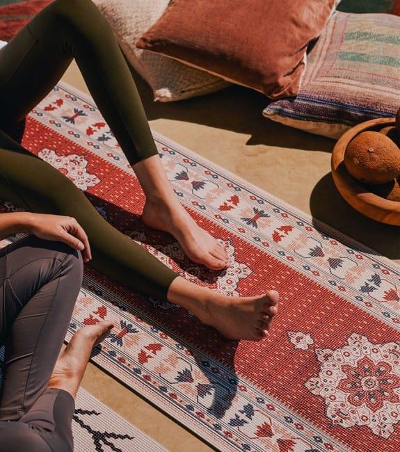 Tapis de yoga persan - l'avant gardiste - sélection fête des mères