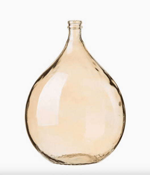 Vase Dame Jeanne verre recyclé Drop