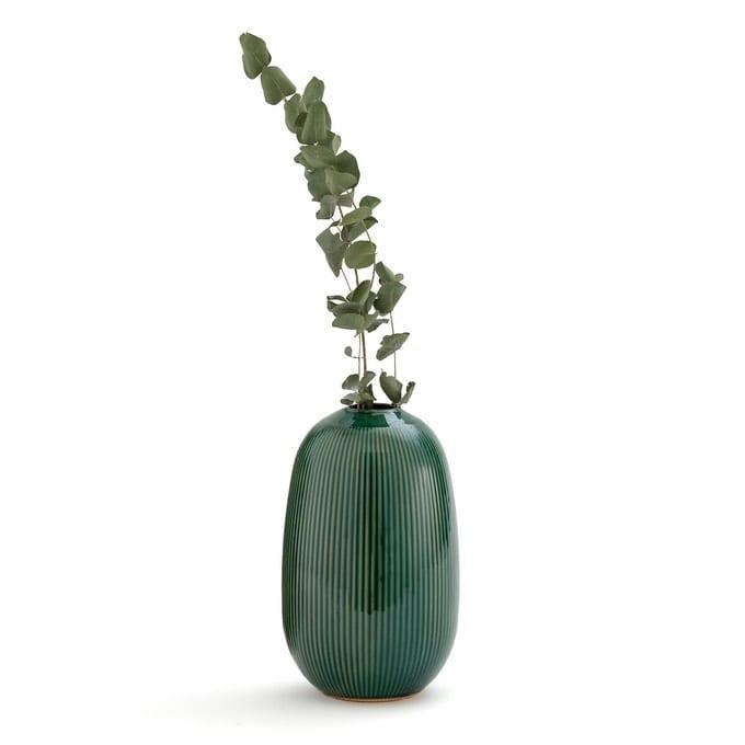 Vase en cémarique H. 26cm, Estria - La Redoute - Sélection Fête des mères