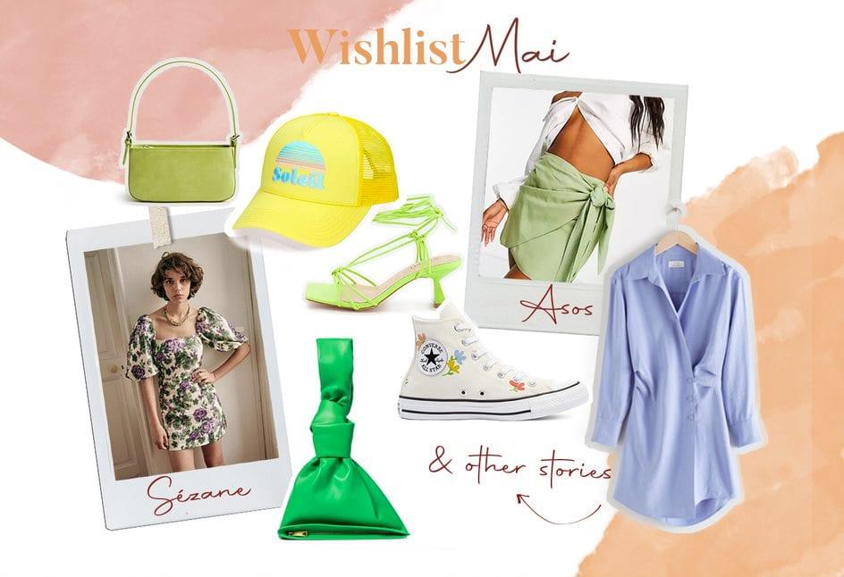 Visuel vêtements - Wishlist Mai 2021