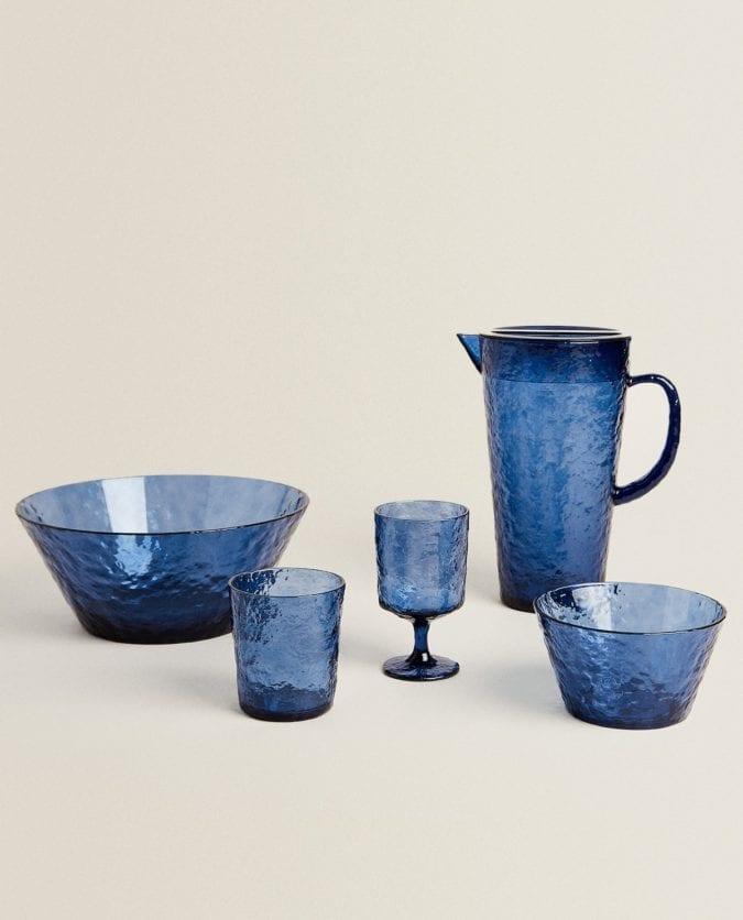 Zara Home – vaisselle bleu