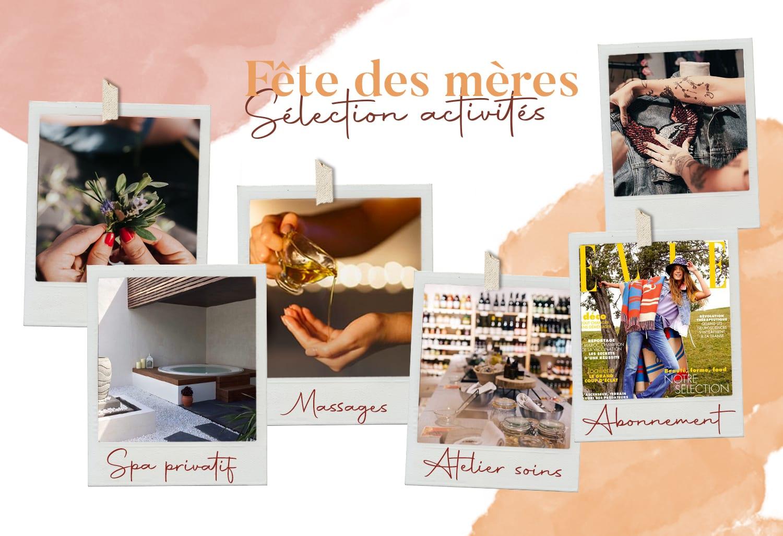 Fête des mères : ma sélection cadeaux activités