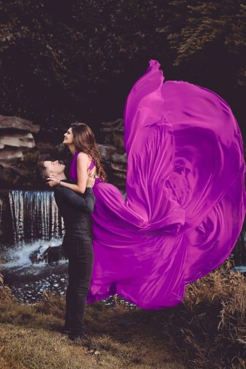 Robe mauve - Upsylon
