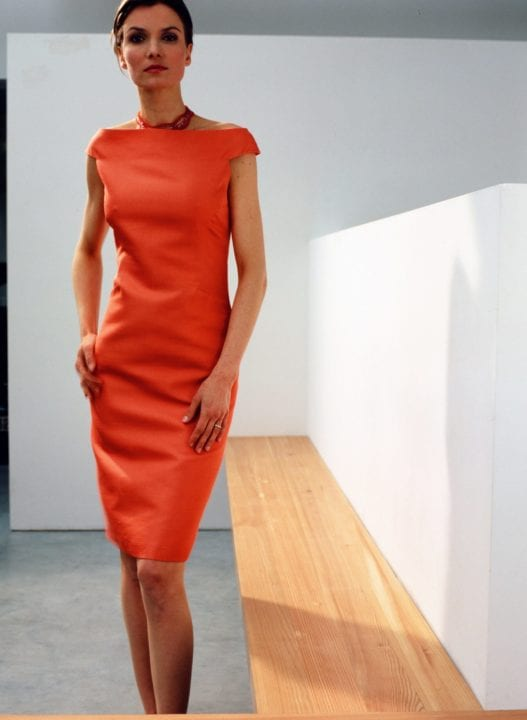 Robe orange - Upsylon