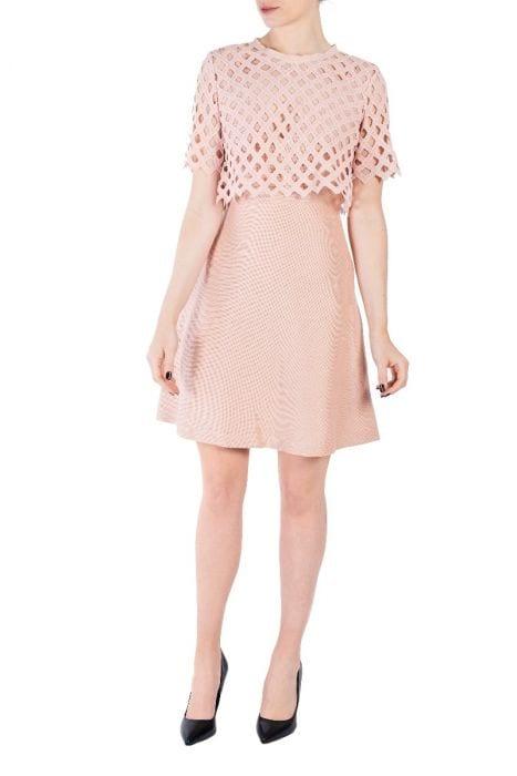 Sélection demoiselle d'honneur - Sandro pink ceremony dress - Sandro - Be Sélective