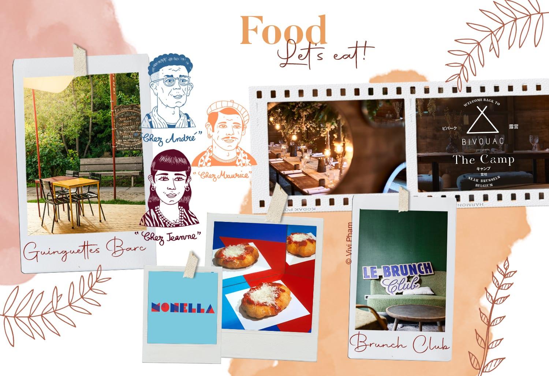 restaurants bruxelles juillet