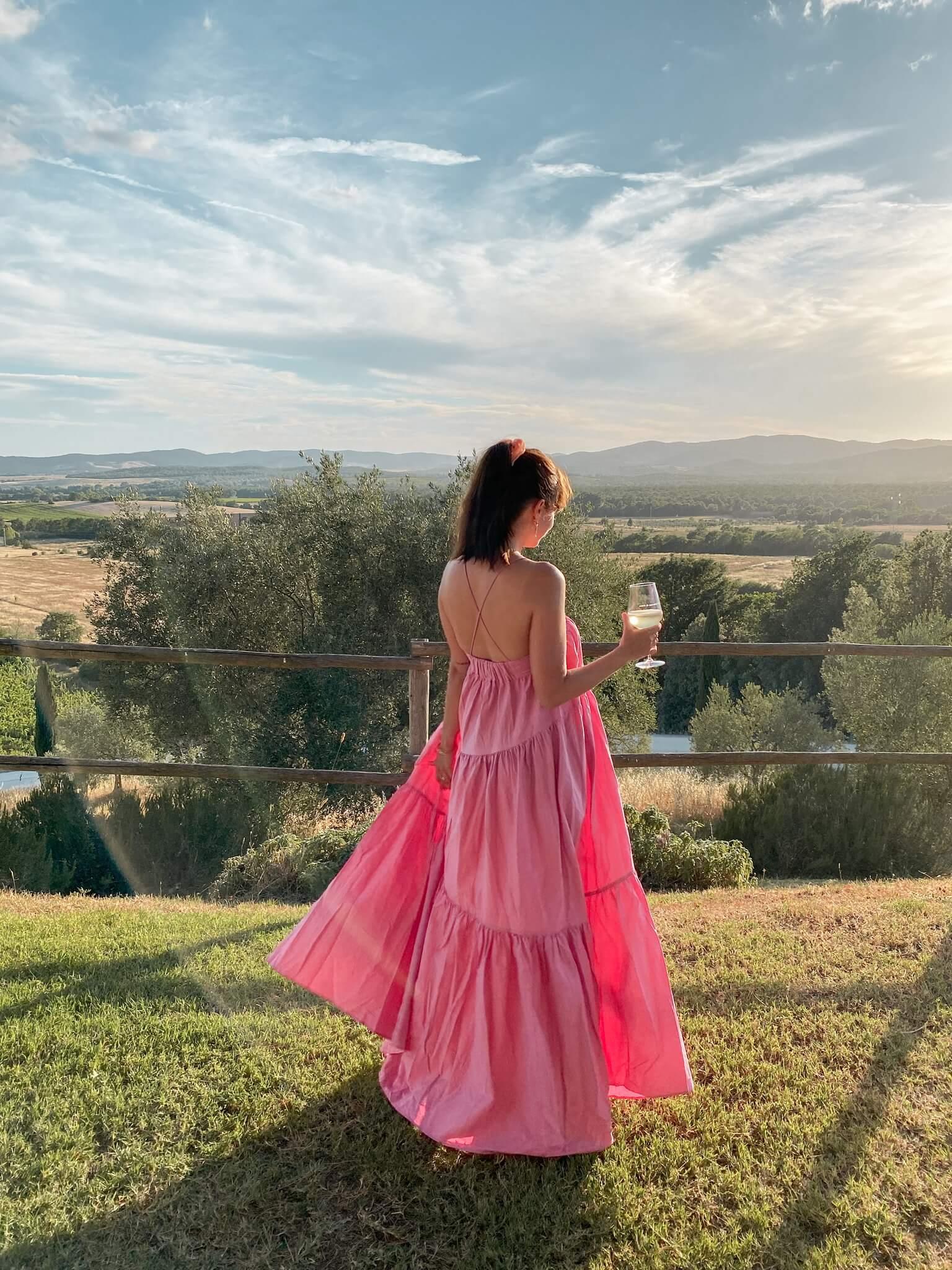 robe rose mango