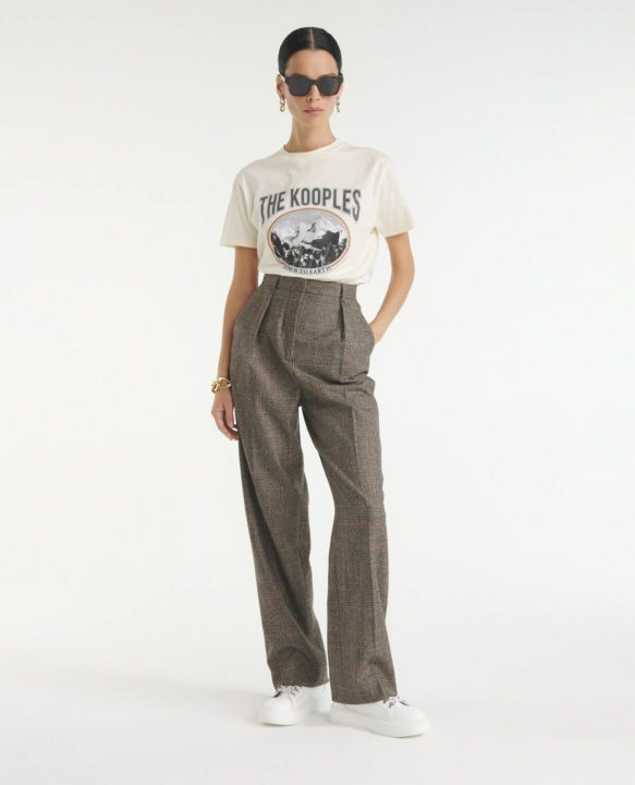 Pantalon en laine The Kooples