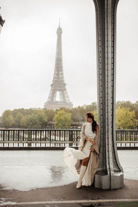 Tenue mode mi-saison Paris