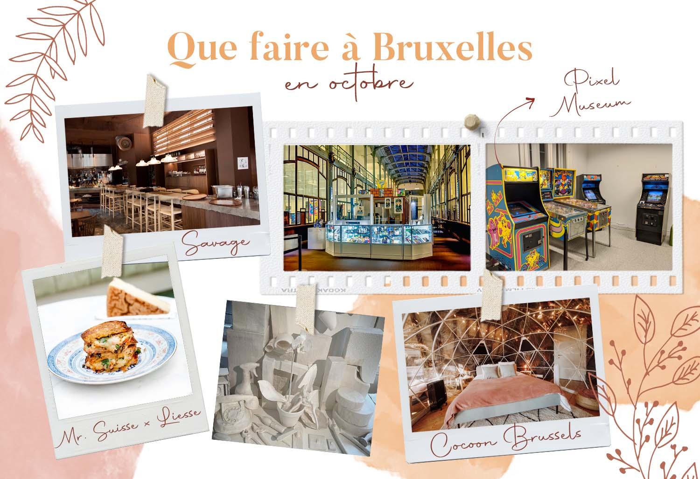 bons plans Bruxelles octobre